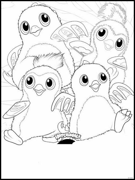Desenhos para colorir para crianças para imprimir Hatchimals 3 ...