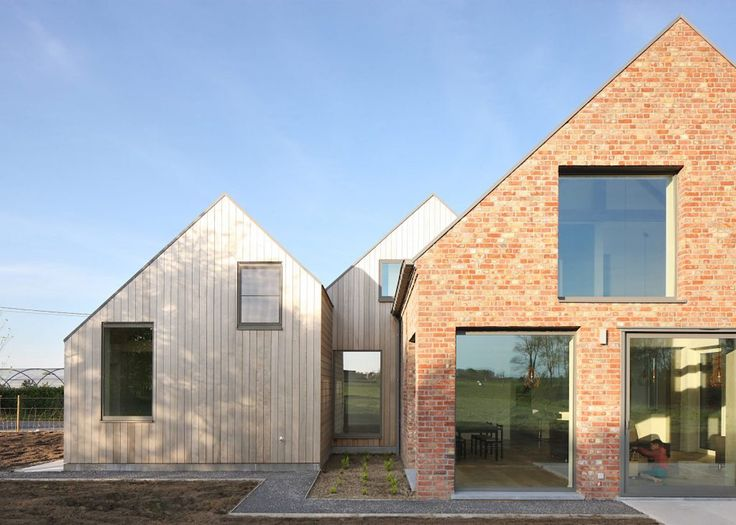Historic Belgian farmhouse renovated into a modern solar-powered home