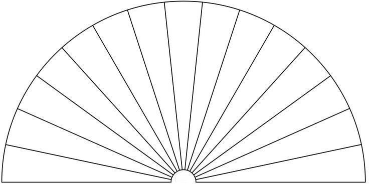 Dowsing Chart, 15 Pieces. You can use this picture to make your own Dowsing Chart, by adding any text or symbols you want.