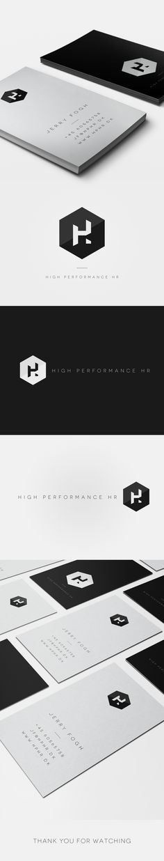 High Performance HR on Behance