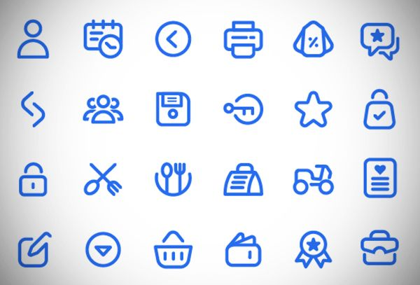 Free Icons 40 Modern Useful Icon Sets For Designers Free Icons
