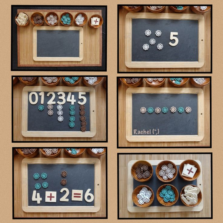 "Button play - number recognition, counting, simple addition & pattern work... from Rachel ("",)"