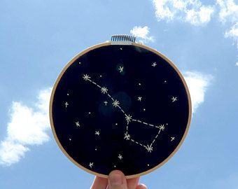 Bordado Constelación Osa Mayor