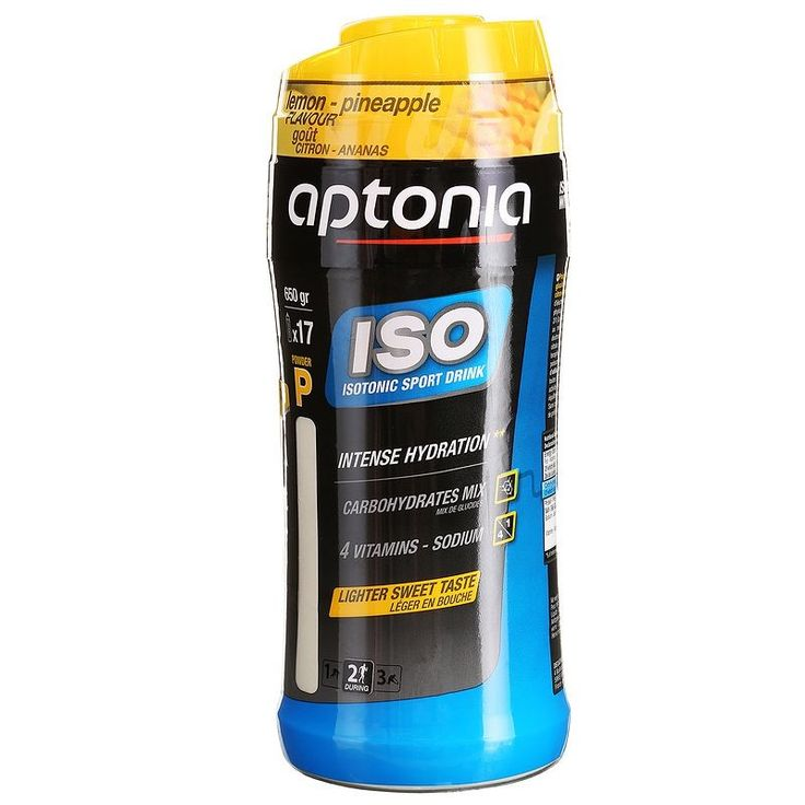 €7,95 - Nutricion - ISO 650 g piña-limón. - APTONIA