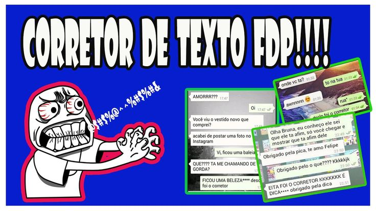 Corretor de Texto FDP!!!