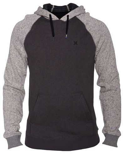 Hurley Retreat Pullover - A traditional pullover hoodie gets an update with raglan styling #BigR #MensStyle