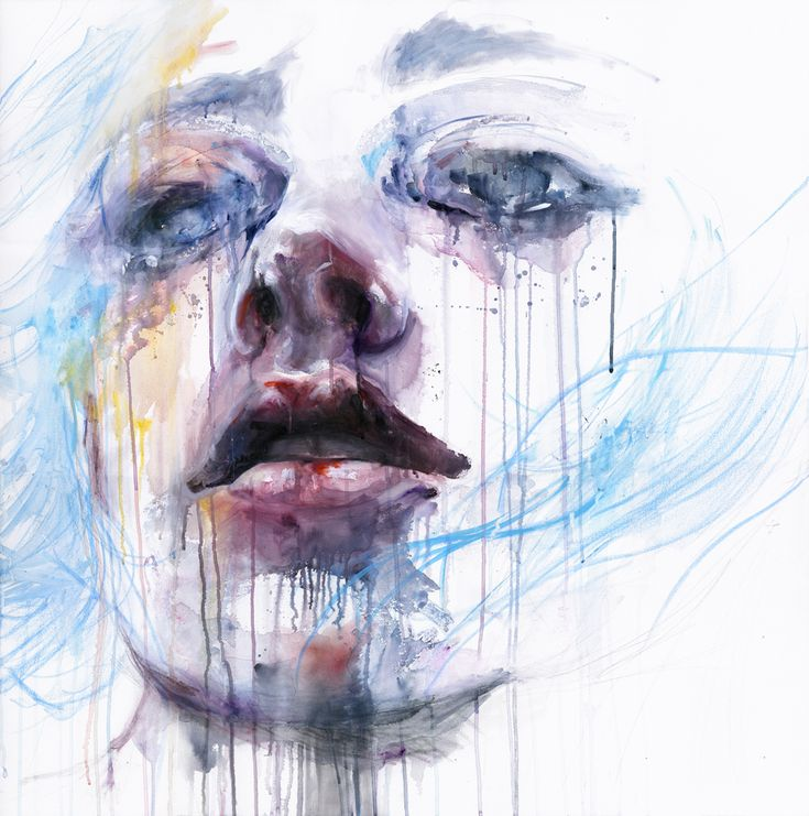 Silvia Pelissero, Italian painter best known as agnes-cecile, from an art high school in Rome, she has continued on as a self-taught.