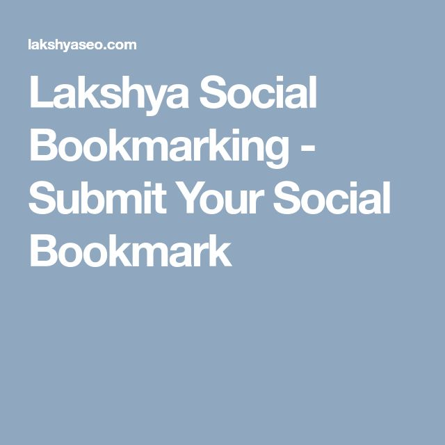 Lakshya Social Bookmarking - Submit Your Social Bookmark