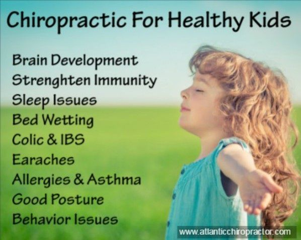 #DYK Apart from adults & seniors, chiropractic is safe & highly effective for your kids health.   #ChiropracticForKids #ChiroKids #HealthyKids #Chiropractic #ChiropracticCare #AtlanticChiropractic
