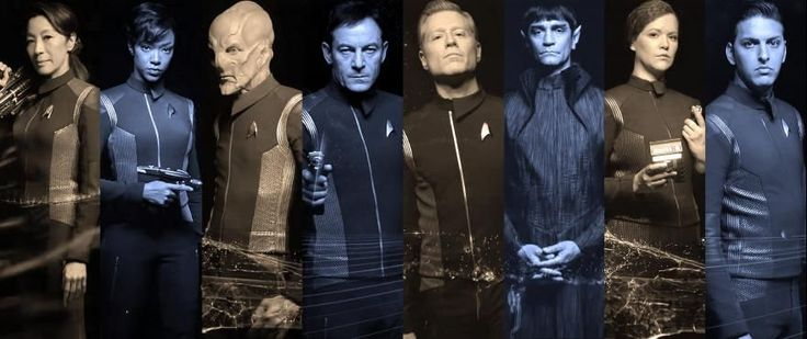 Watch them turn around or point a phaser!!!  How exciting!  Not!  News - CBS All Access released several more Star Trek: Discovery Character Reveals this past week, and StarTrek.com has gathered them all together for your viewing pleasure. Check 'em out at...