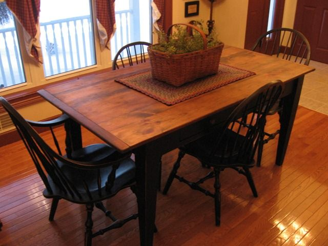 Centerpiece primitive dining room decor pinterest