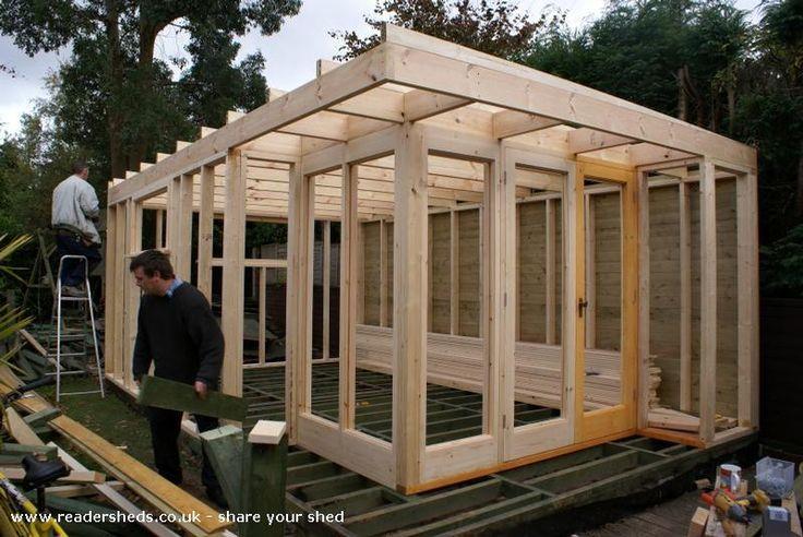 The Idea Room, Workshop/Studio from Garden #shedoftheyear @unclewilco