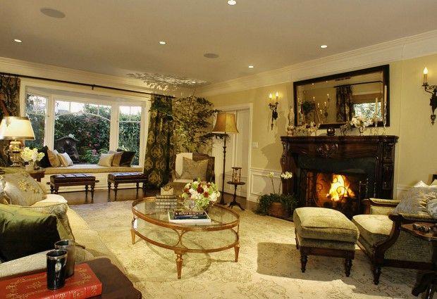 Дизайн гостиной в ретро стиле