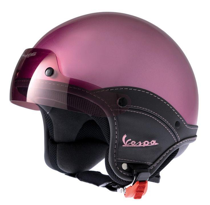 Vespa Helmets for Sale | ... helmets by brand vespa helmets vespa soft touch open face helmet rosa