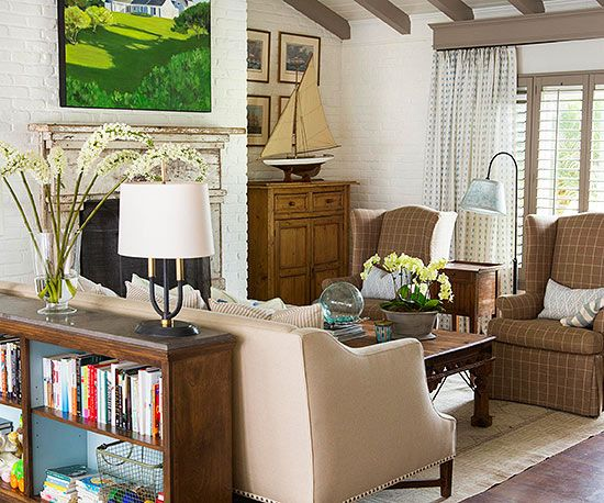 Living room color ideas neutral furniture how to for Neutral color furniture