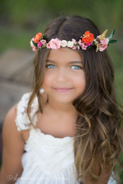 The Shannon Floral Halo by StylemeJaime on Etsy