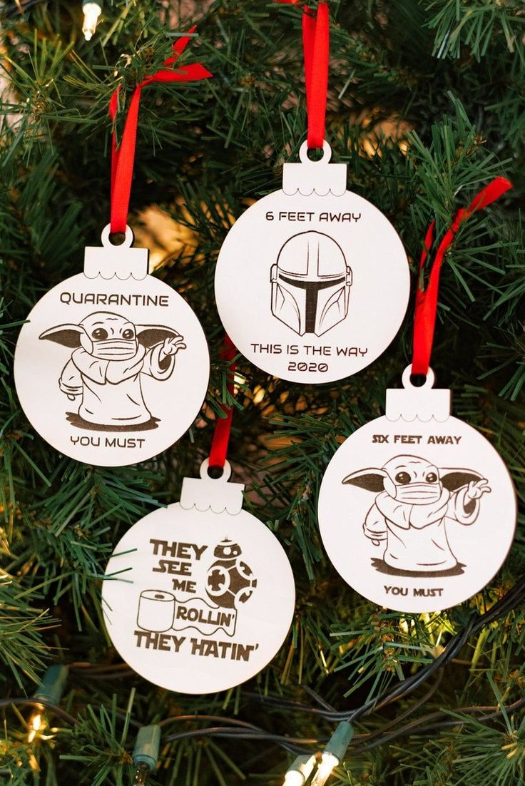 2020 Sci Fi Ornament Alien Ornament 2020 Christmas