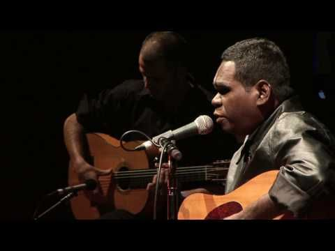A beautiful performance by the brilliant Gurrumul