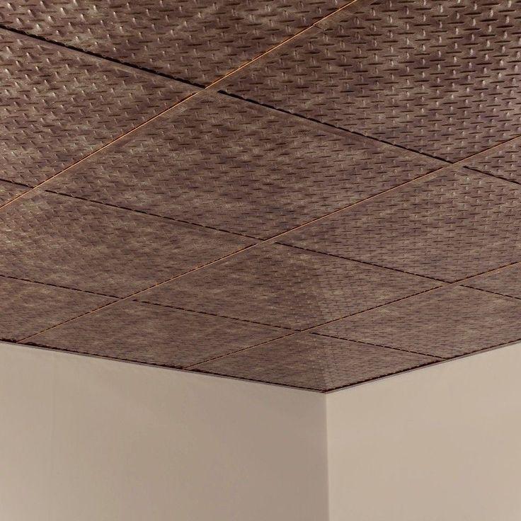 Fasade diamond plate revealed edge bermuda bronze foot