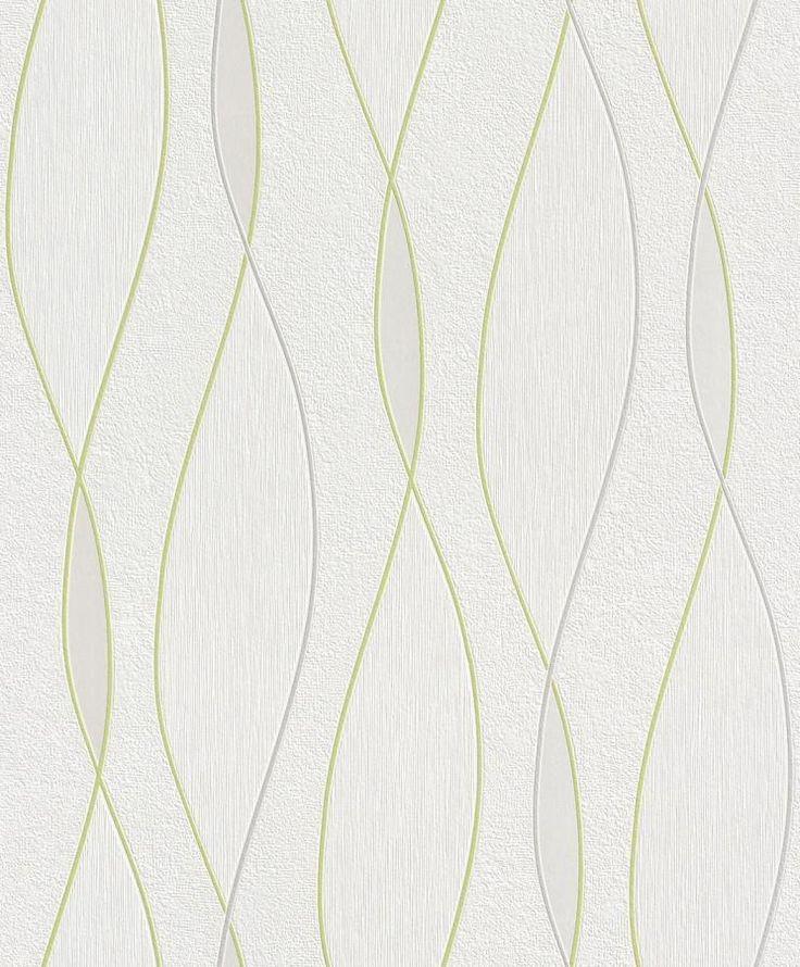 best 25 tapete grau wei ideas on pinterest wei e. Black Bedroom Furniture Sets. Home Design Ideas