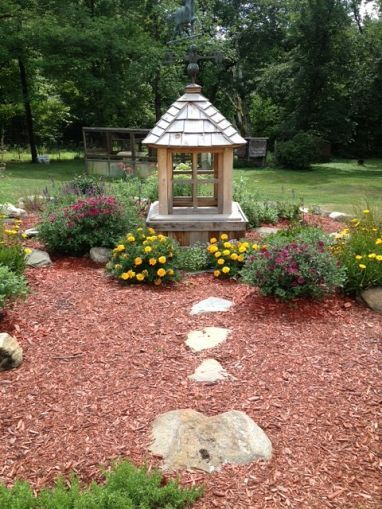 my garden cupola - Garden Ideas To Hide Septic Tank