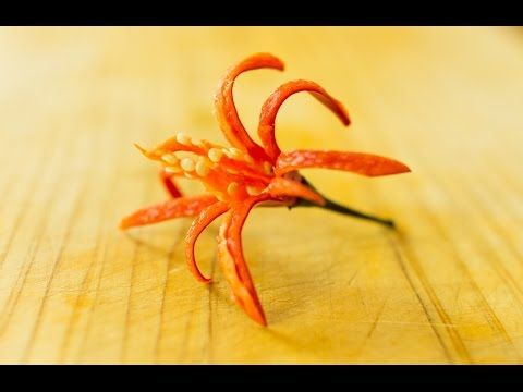 Firebloom - make a flower out of chili peppers