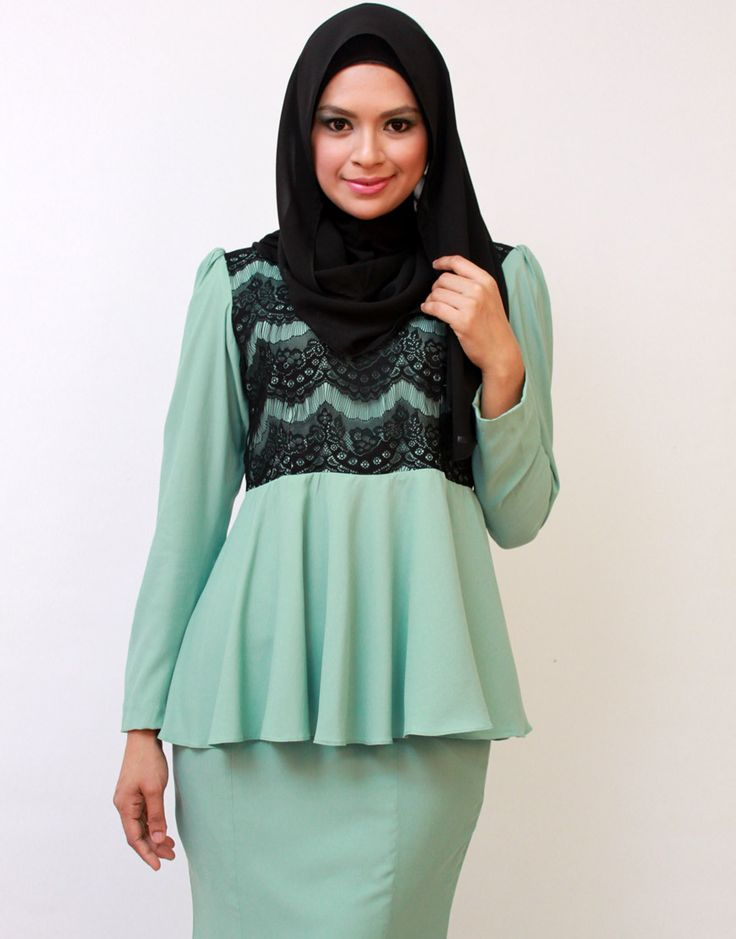 peplum_mint green_ (5) EDZ fashion