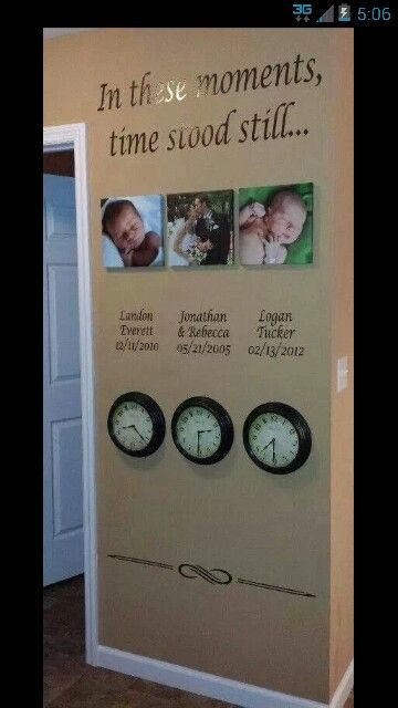 I want a feature wall like this after we finish our renovations and have kids