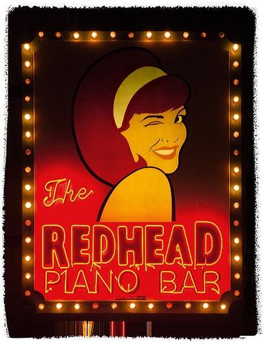 Redhead Piano Bar, Chicago, Illinois by Metropol 21, via Flickr