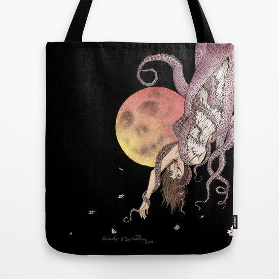 TOTE BAG  on shop @society6  by Samy-Consu  #society6 #dark #macabre #gothic #goth