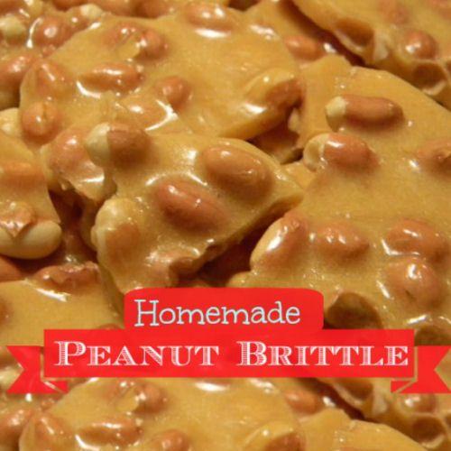 Homemade Microwave Peanut Brittle