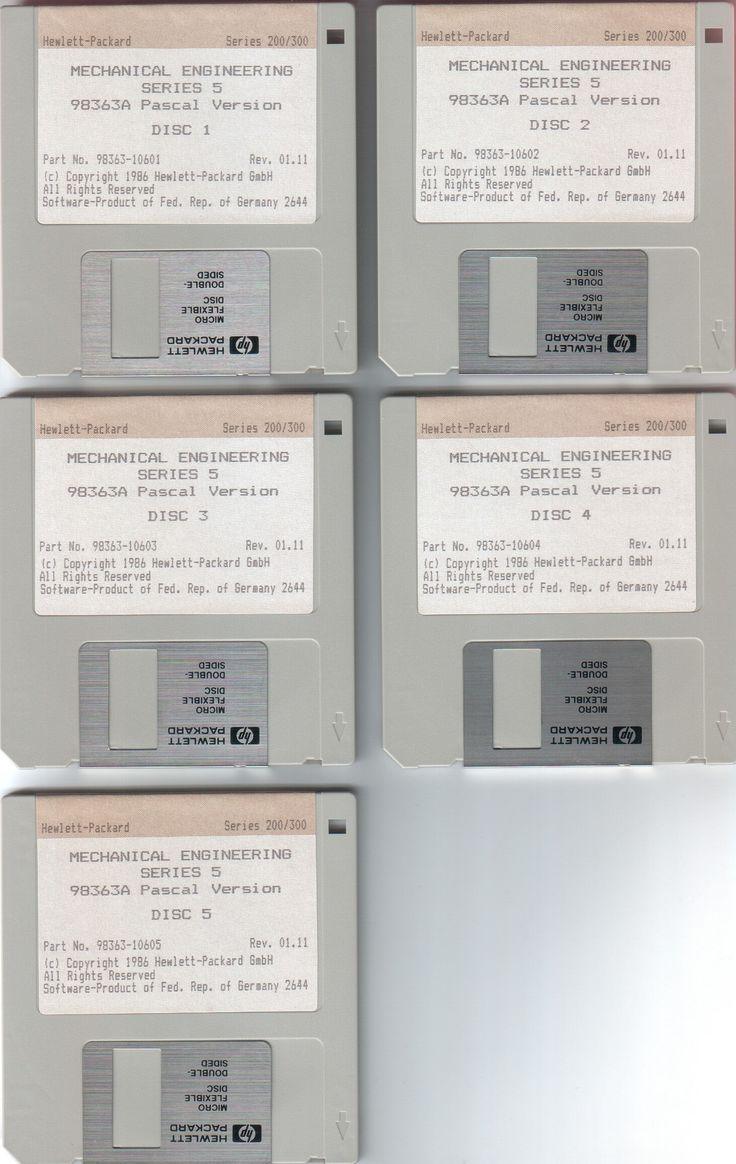 Немного истории Установочные дискеты ME5, 2D CAD программы компании Hewlett-Packard, которая была выпущена в июле 1986 года. Включала в себя такие новые функции как функция равноудаленности, плоттер, IGES переводчик, набор символов Kanji и т.д. ME5 был разновидностью ME10 (новое название — Creo Elements/Direct Drafting) с меньшей стоимостью и ограниченной функциональностью. ME5 и ME10 были выпущены одновременно.