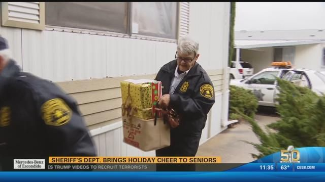 San Diego County Sheriff's Department brings holiday cheer to se - CBS News 8 - San Diego, CA News Station - KFMB Channel 8