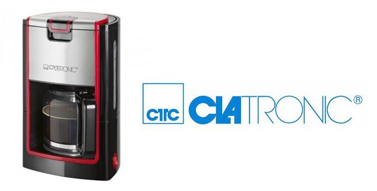 Clatronic Cafetera KA 3558 8-10T Negra -- 29.99 € Cafetera con estilo propio!!! http://www.materialdirecto.es/es/cafeteras-goteo/66503-clatronic-cafetera-ka-3558-8-10t-negra.html