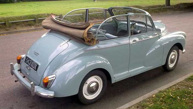 Morris Minor Convertible - Premier Carriage