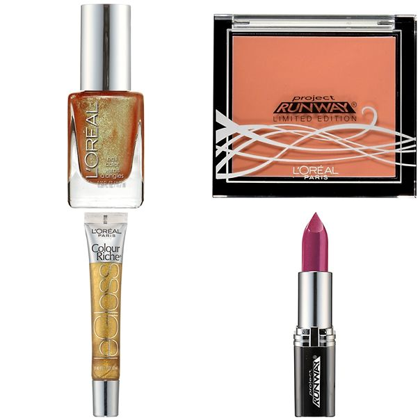 L'Oreal Paris & Project Runway Electric Fantasie Collection Fall 2012