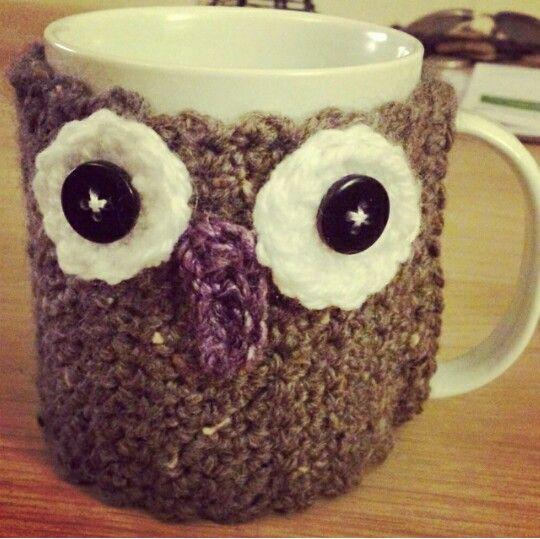 First crochet project #cupcosie #wscrafting @whitestuff
