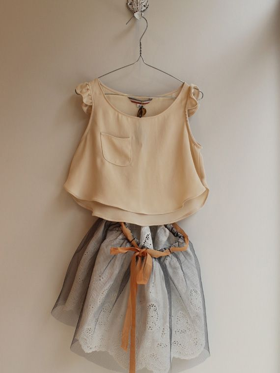 Little girls outfit. I would totally wear this outfit if it was in a larger size!