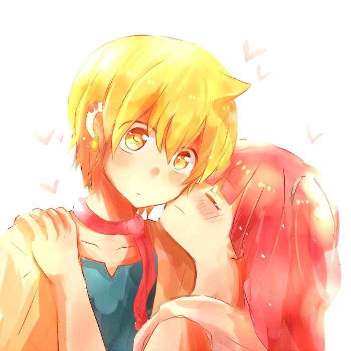 magi alibaba and morgiana kiss - photo #6