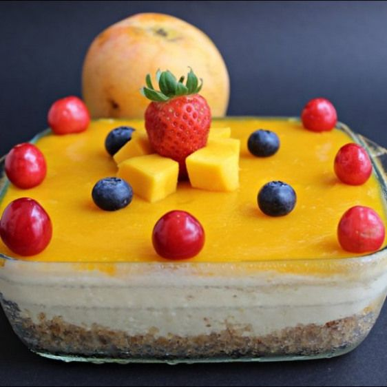 Mango Cheesecake Recipe This Mango Cheesecake Recipe With Mango Pulp Is A Delicious No Bake No Egg Cake Made Cheesecake Recipes Mango Cheesecake Mango Recipes