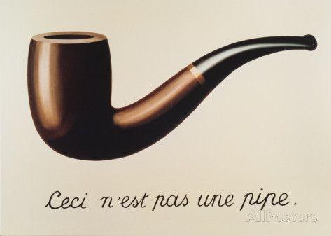 La Trahison des Images Affiches par Rene Magritte sur AllPosters.fr