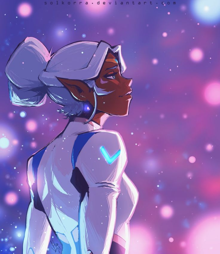 Allura's Memories- Princess Allura and her sparkling memory from Voltron Legendary Defender
