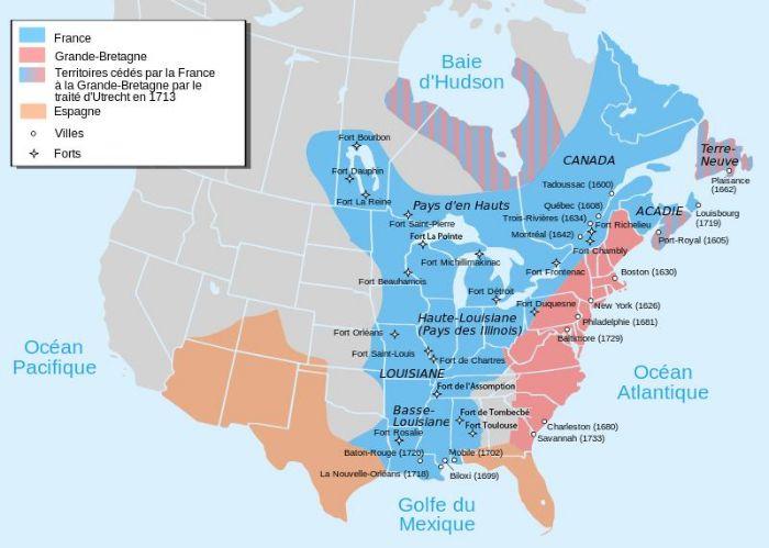 La Nouvelle-France à son apogée