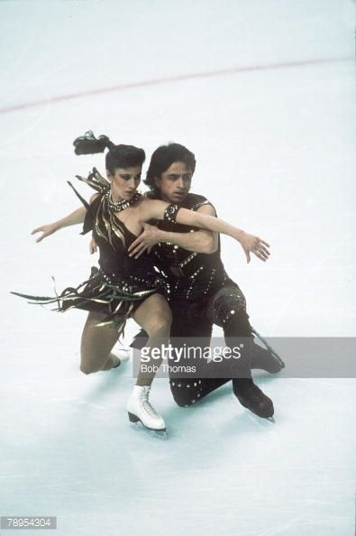 images of isabelle and paul duchesnay | ... Ice Dance. Isabelle Duchesnay and Paul Duchesnay, France. : News Photo