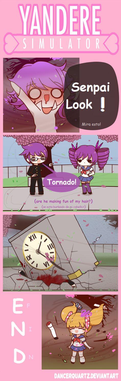 Yandere Comic - Tornado Mode by DancerQuartz on DeviantArt