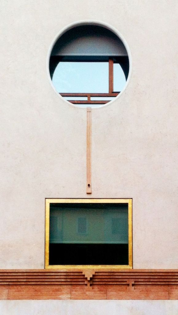 Carlo Scarpa | More on: http://www.pinterest.com/AnkAdesign/abstract-piece-of-tecture/ circulo fachada cuadrado geometria