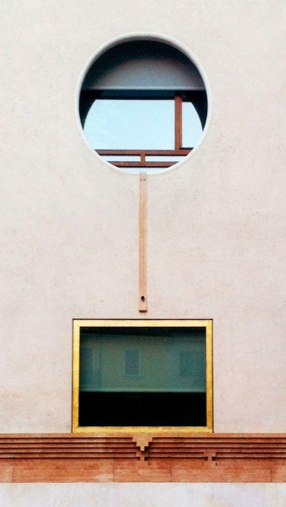 Carlo Scarpa (1906-1978) con Arrigo Rudi (1929-2007) | Banca Popolare di Verona | piazza Nogara e vicolo Conventino, Verona, Italia | Progettazione ed esecuzione 1973-1978 - Carlo Scarpa, compimento 1981 - Arrigo Rudi