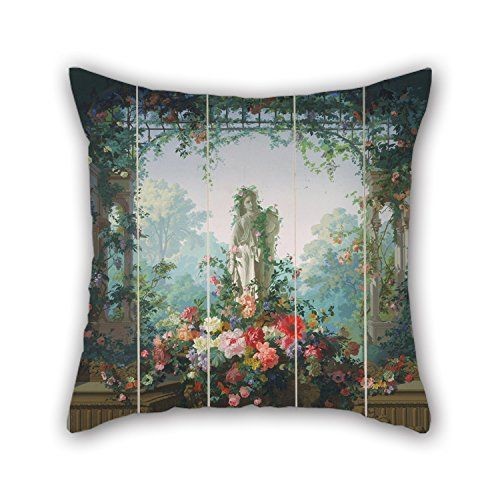 Elegancebeauty 16 X 16 Inches / 40 By 40 Cm Oil Painting Designed By Édouard Muller (called Rosenmuller), French Or Swiss - Garden Of Armida Wallpaper Cushion Covers,each Side Is Fit For Deck Chai