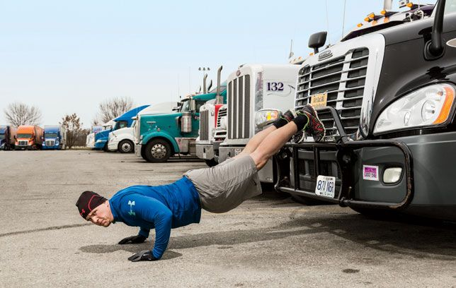7 Rules of On-The-Road Fitness - How Truckers Stay Healthy Despite 300 Days On The Road Each Year