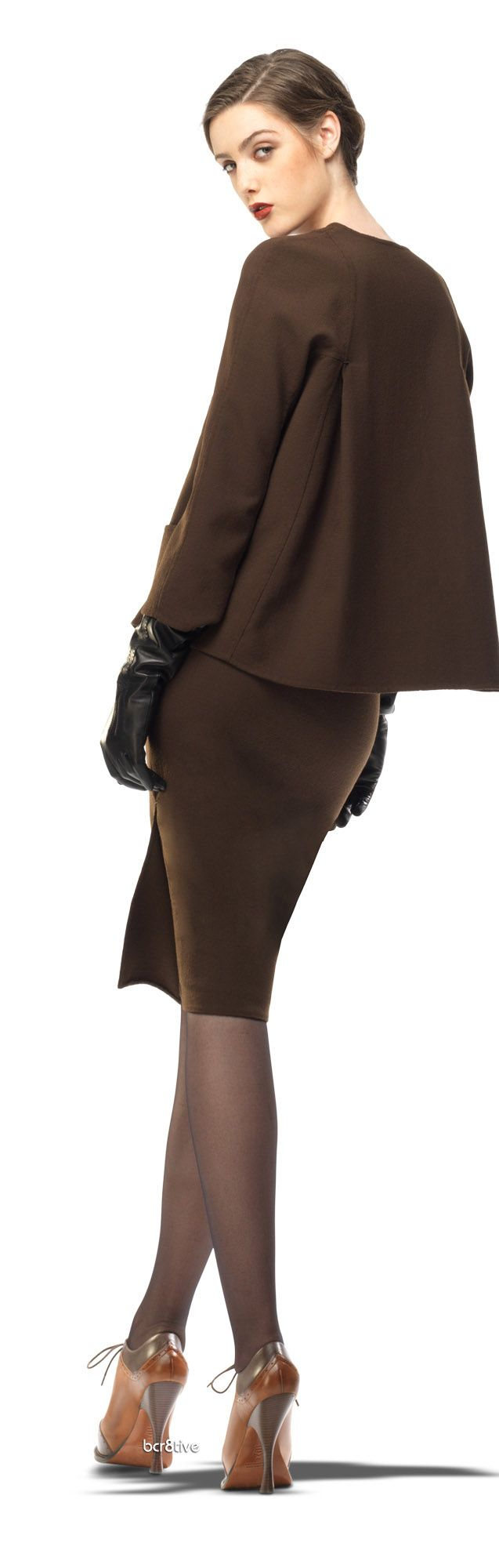 Leon Max Double Weave Crepe Slim Skirt  | LBV ♥✤ | KeepSmiling | BeStayBeautiful